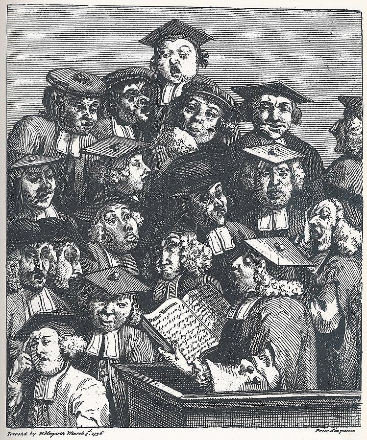 Hogarth_-_Studenten_bei_der_Vorlesung_1736